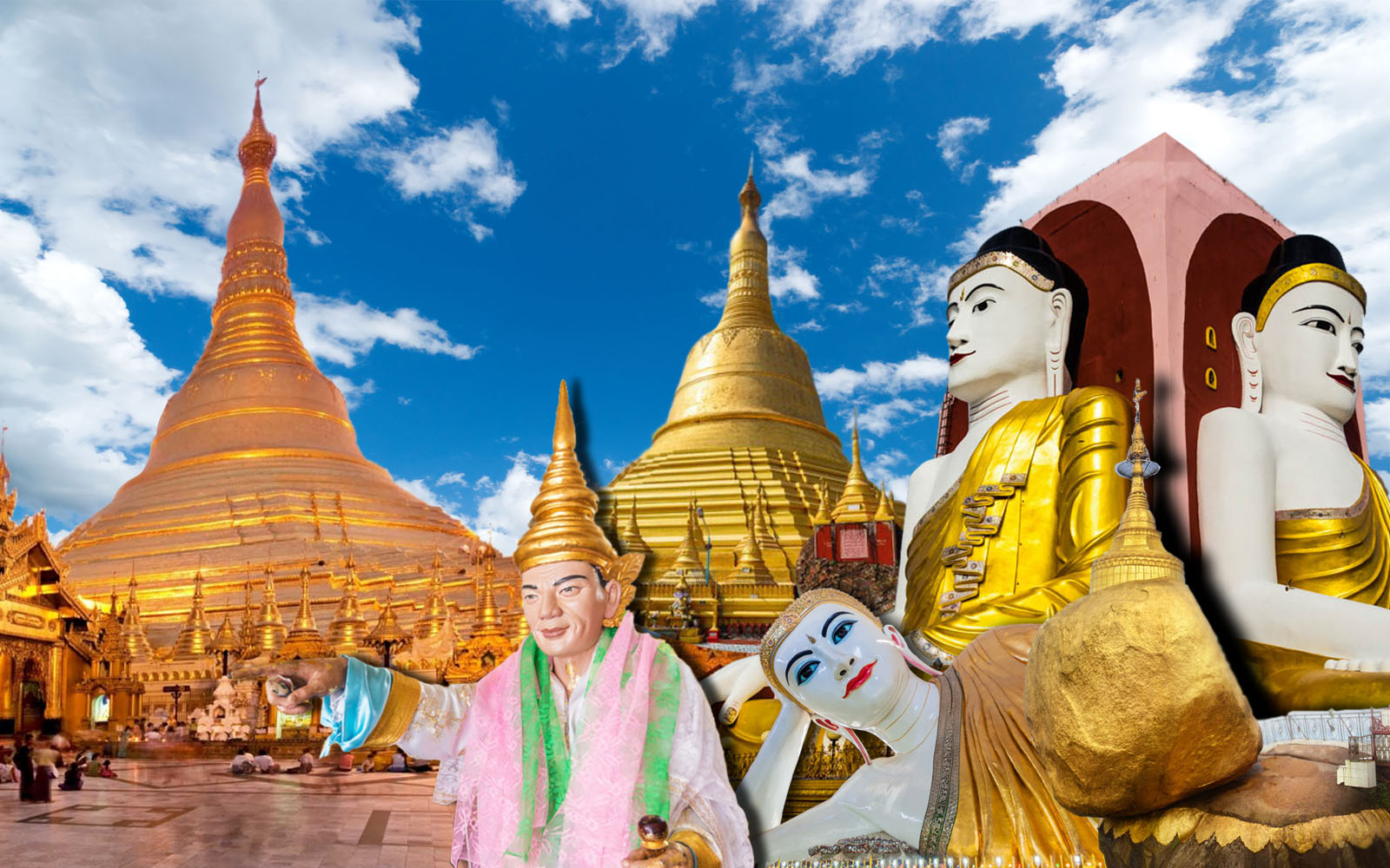 3D 2N Yangon Bago Thanlyin Golden Rock