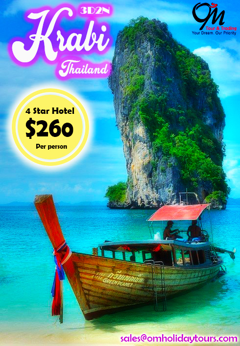 3D2N Krabi (Muslim Package)