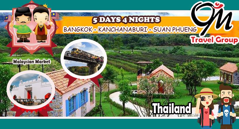 5D4N Bangkok - Kanchana Buri - Suan Pheung