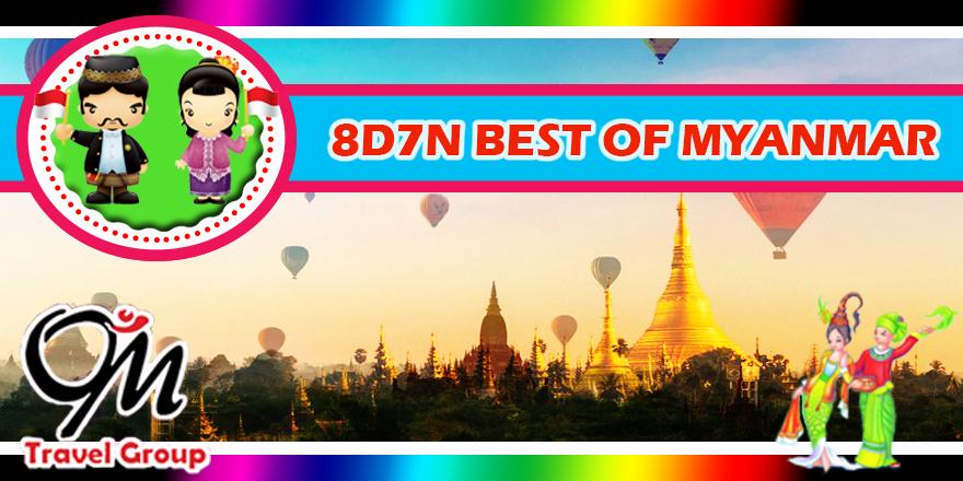 8D7N Best Myanmar