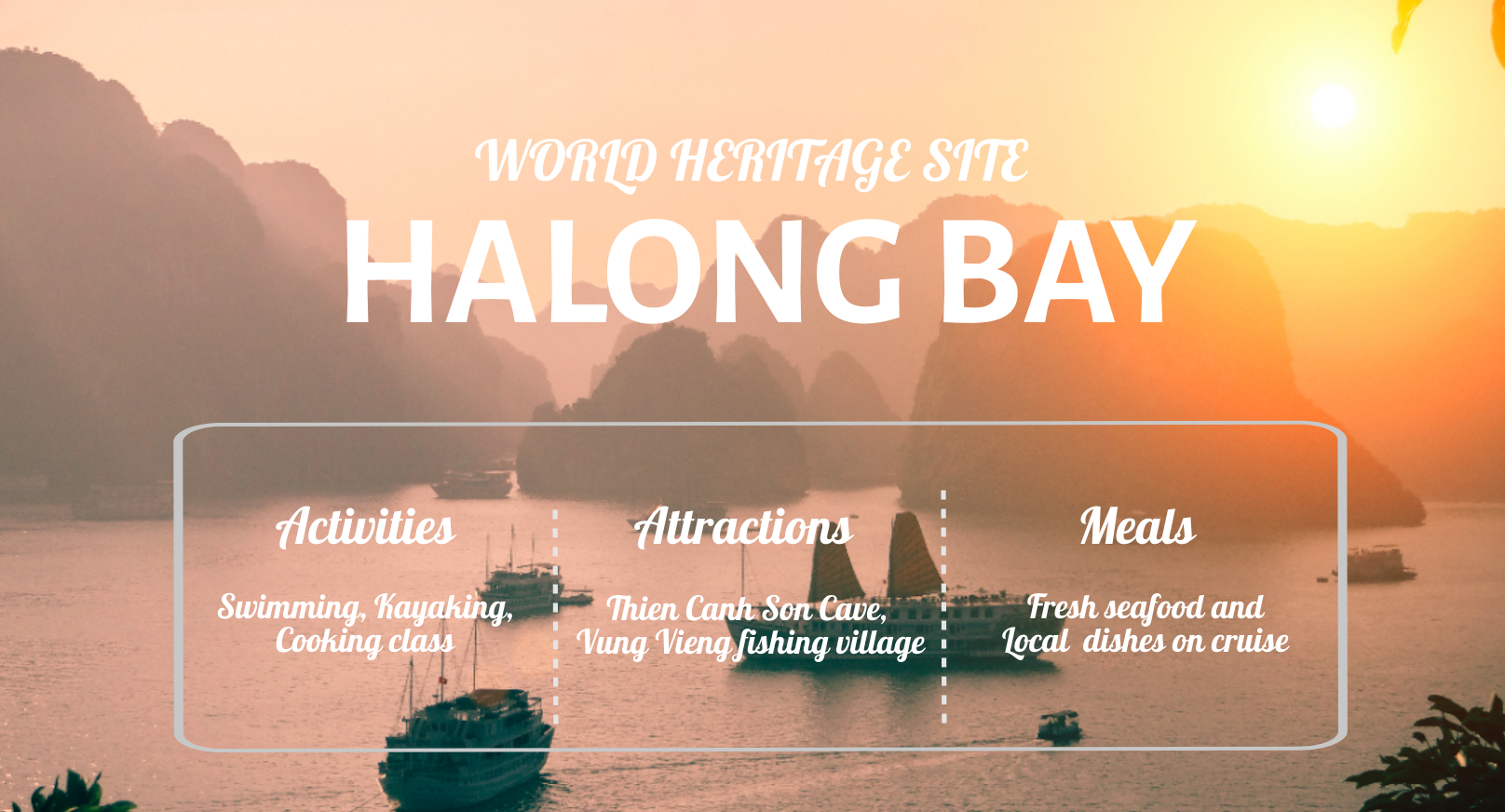 2 Days 1 Night  Hanoi - Halong  Bay Tour (Included 1 night stay on cruise)