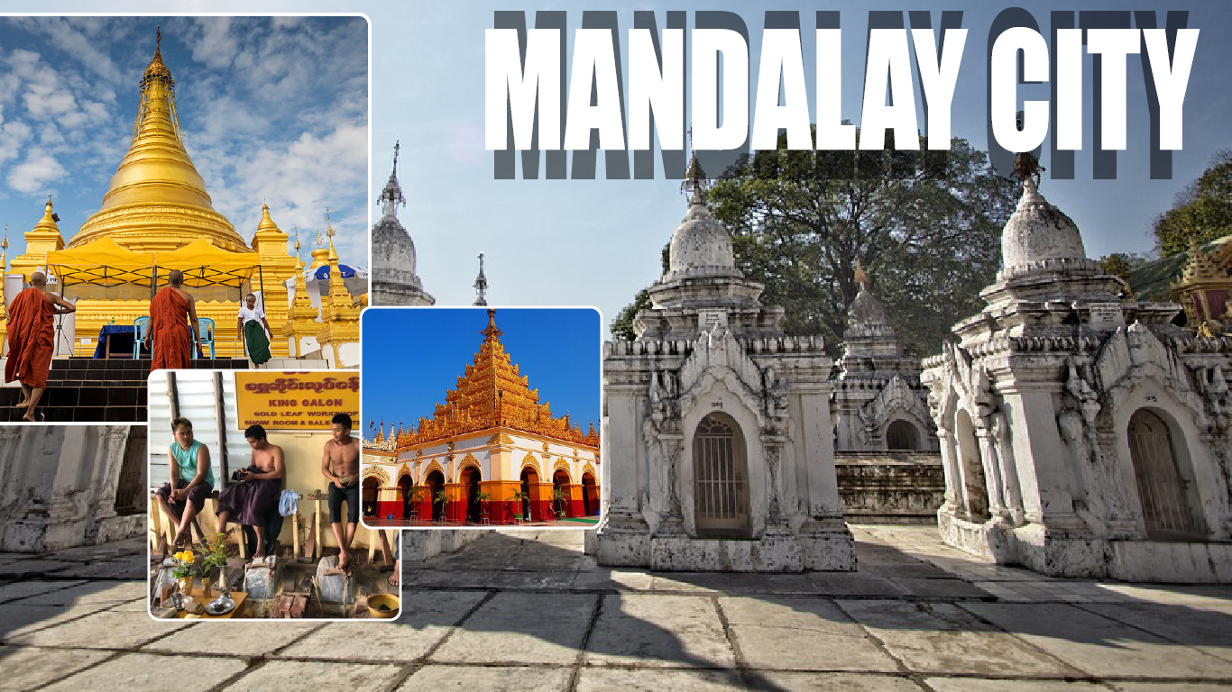 2 Days Mandalay - Gold Leaf Manufacturing (Excluded Hotel)