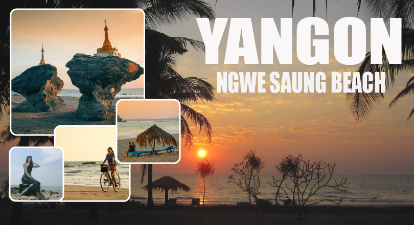 3 Days Ngwe Saung Beach (Excluded Hotel)