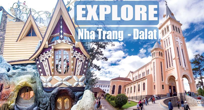 2 Days Nha Trang  - Da Lat Tour (Excluded Hotel)