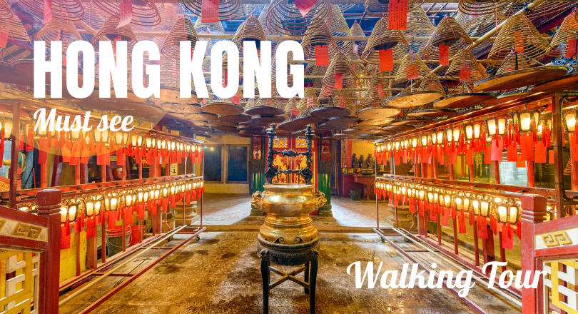 Hong Kong Must see - Walking Tour (Start from 11a.m. - 2p.m.)